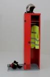 Boîte pour les pompiers et sauveteurs