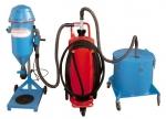 Machines à remplir à poudre portable PFF-FLIPP-AIR-MATIC avec réservoir