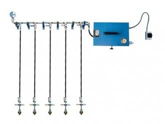 Dispositif d'essai à basse pression avec 5 jonctions modèle ND-W-5